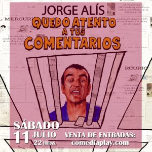 Jorge Alis comediaplay