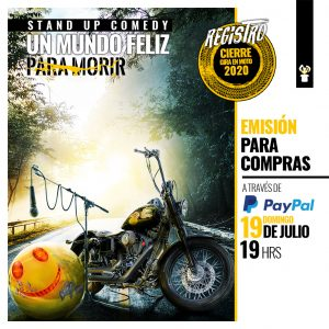 Afiche UMFPM Monticello 1024x1024 PAYPAL Domingo 19 19hrs