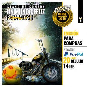 Afiche UMFPM Monticello 1024x1024 PAYPAL Lunes 20 14hrs